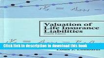 [PDF] Valuation of Life Insurance Liabilities: Establishing Reserves for Life Insurance Policies