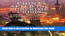[PDF] China After the Subprime Crisis: Opportunities in The New Economic Landscape E-Book Free