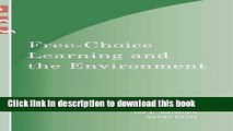 [Fresh] Free-Choice Learning and the Environment (Learning Innovations Series) New Ebook