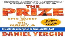 [Popular] Books The Prize: The Epic Quest for Oil, Money   Power Free Online