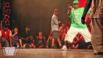 Battle de breakdance entre Bboy Junior et Bboy Neguin