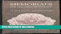 Download Memorials for Children of Change: The Art of Early New England Stonecarving Full Online