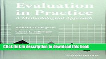 [Popular Books] Evaluation In Practice: A Methodological Approach, 2nd Edition Free