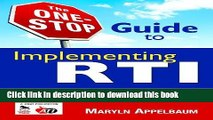[Popular Books] The One-Stop Guide to Implementing RTI: Academic and Behavioral Interventions,