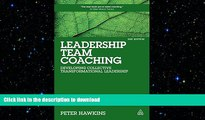 FAVORIT BOOK Leadership Team Coaching: Developing Collective Transformational Leadership FREE BOOK