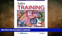 READ ONLINE Sales Training (ASTD Trainer s Workshop) READ EBOOK