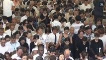 Les Japonais commémorent l'attaque nucléaire de Nagasaki