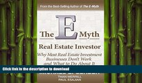 PDF ONLINE The E-Myth Real Estate Investor READ NOW PDF ONLINE