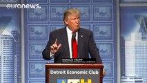"""Donald Trump promete la """"mayor revolución fiscal desde Ronald Reagan"""" entre críticas del establishment republicano"""