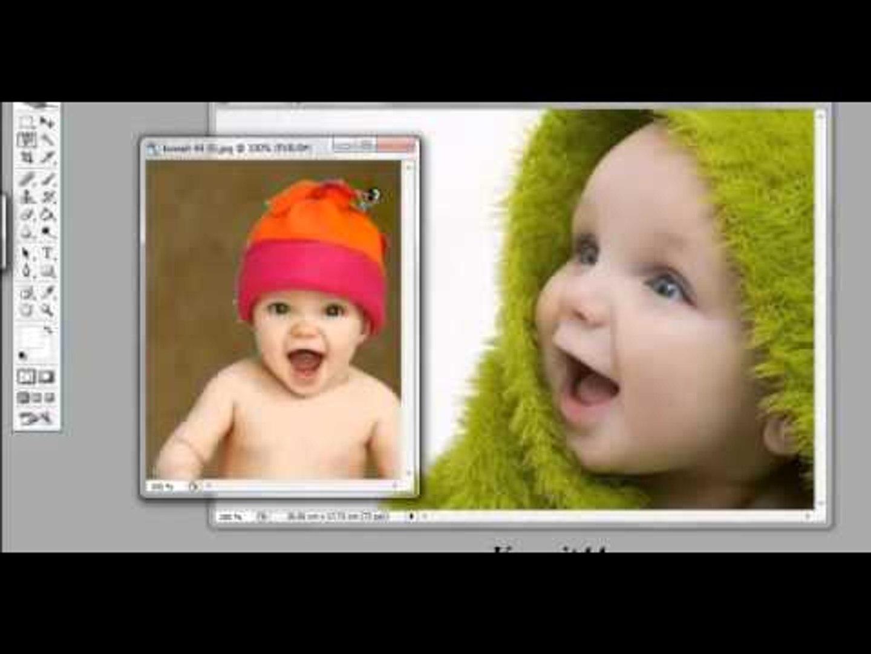 كيفية قص صورة و وضعها على أخرىفي الفوتوشوب باحتراف