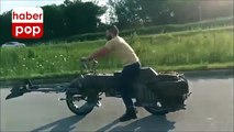 Star Wars motosikleti test sürüşünde #starwars #motosiklet