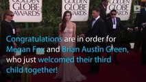 Megan Fox gives birth,  welcomes third baby with Brian Austin Green