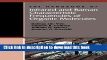 [PDF] The Handbook of Infrared and Raman Characteristic Frequencies of Organic Molecules Book Online