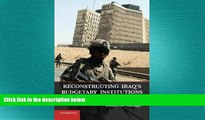 READ book  Reconstructing Iraq s Budgetary Institutions: Coalition State Building after Saddam