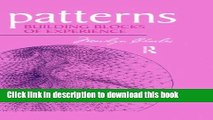 [PDF] Patterns: Building Blocks of Experience Download Online