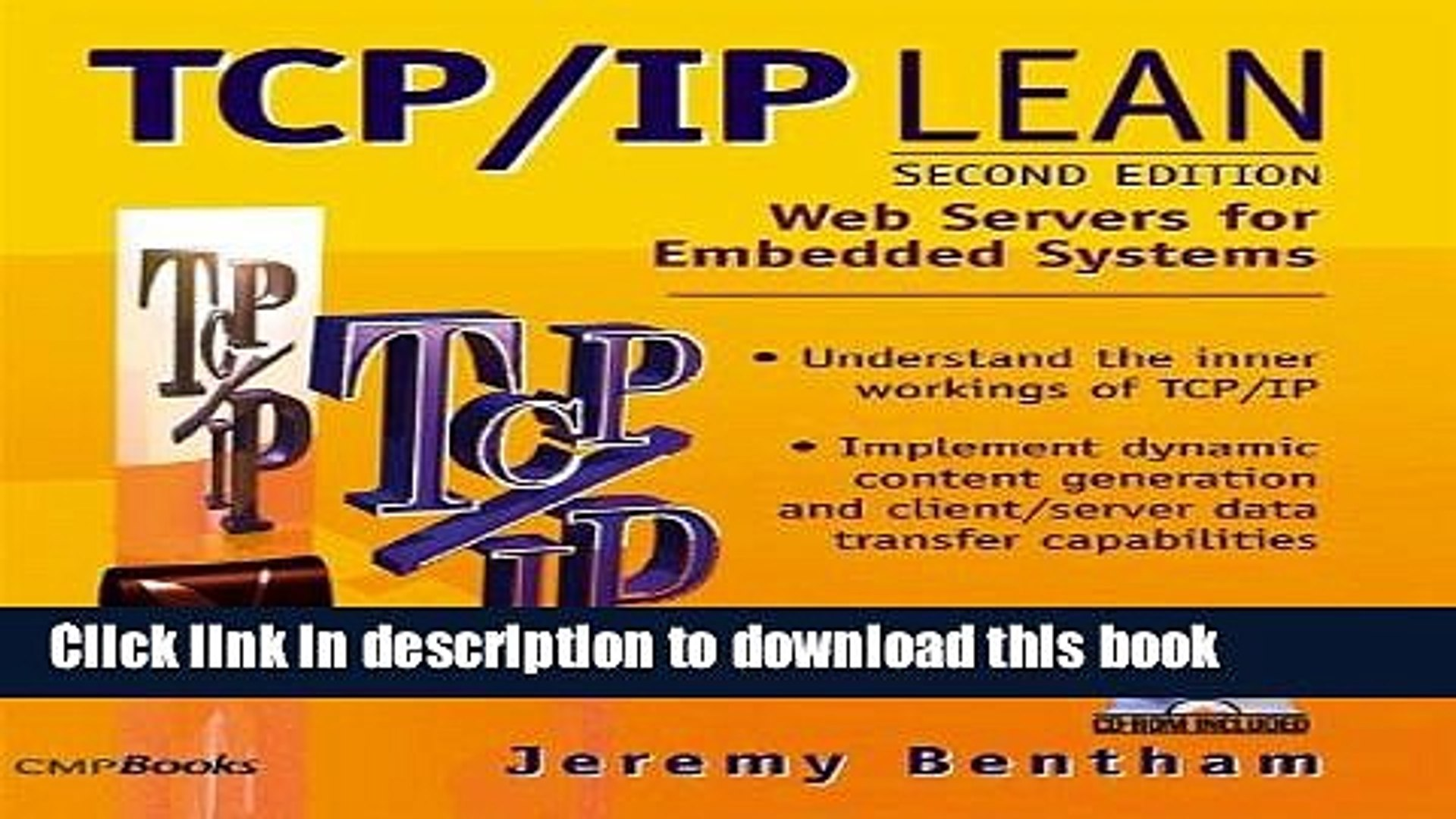 [Download] TCP/IP Lean: Web Servers for Embedded Systems Kindle Collection
