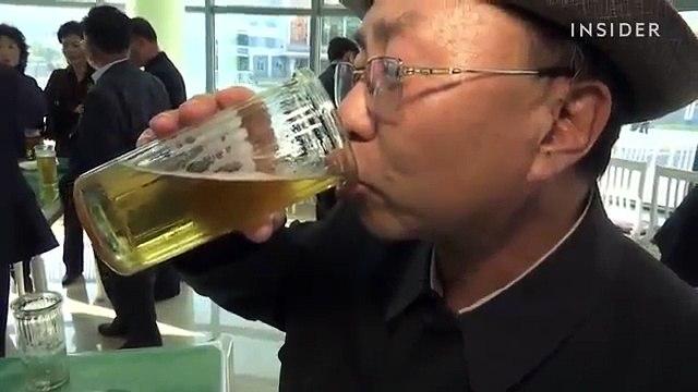 Bars in North Korea - Quan Bar O Trieu Tien