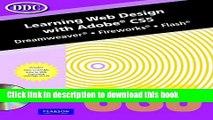 [PDF] Learning Web Design w/Adobe CS5 Book Free