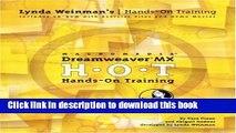 Read Macromedia Dreamweaver 8 Hands On Training Ebook Free