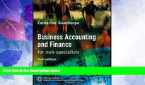 Big Deals  Business Accounting and Finance: For Non Specialists  Best Seller Books Most Wanted