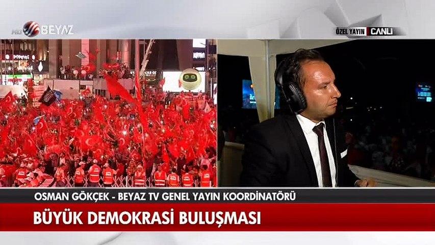 Osman Gökçek 'Yenikapı' buluşmasını değerlendirdi