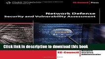 [PDF] Network Defense: Security and Vulnerability Assessment (EC-Council Press) Book Free