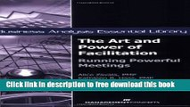[Download] The Art and Power of Facilitation: Running Powerful Meetings (Business Analysis