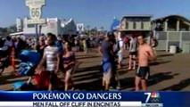 TOP 5 Accidents Caused By Pokemon Go! (Highway Accidents, Falling Off Cliff, Hit By Car)