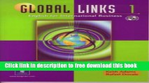 PDF Global Links 1: English for International Business