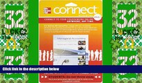 Big Deals  Connect 1-Semester Access Card for Managerial Accounting: Creating Value in a Dynamic