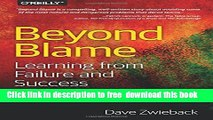 [Download] Beyond Blame: Learning From Failure and Success Hardcover {Free|