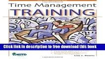 [Download] Time Management Training (Astd Trainer s Workshop Series) Paperback {Free 