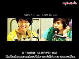 [ENG SUB] 080808 SHINee - OnJong Chipmunk Voice at radio