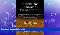 READ book  Scientific Financial Management: Advances in Financial Intelligence Capabilities for