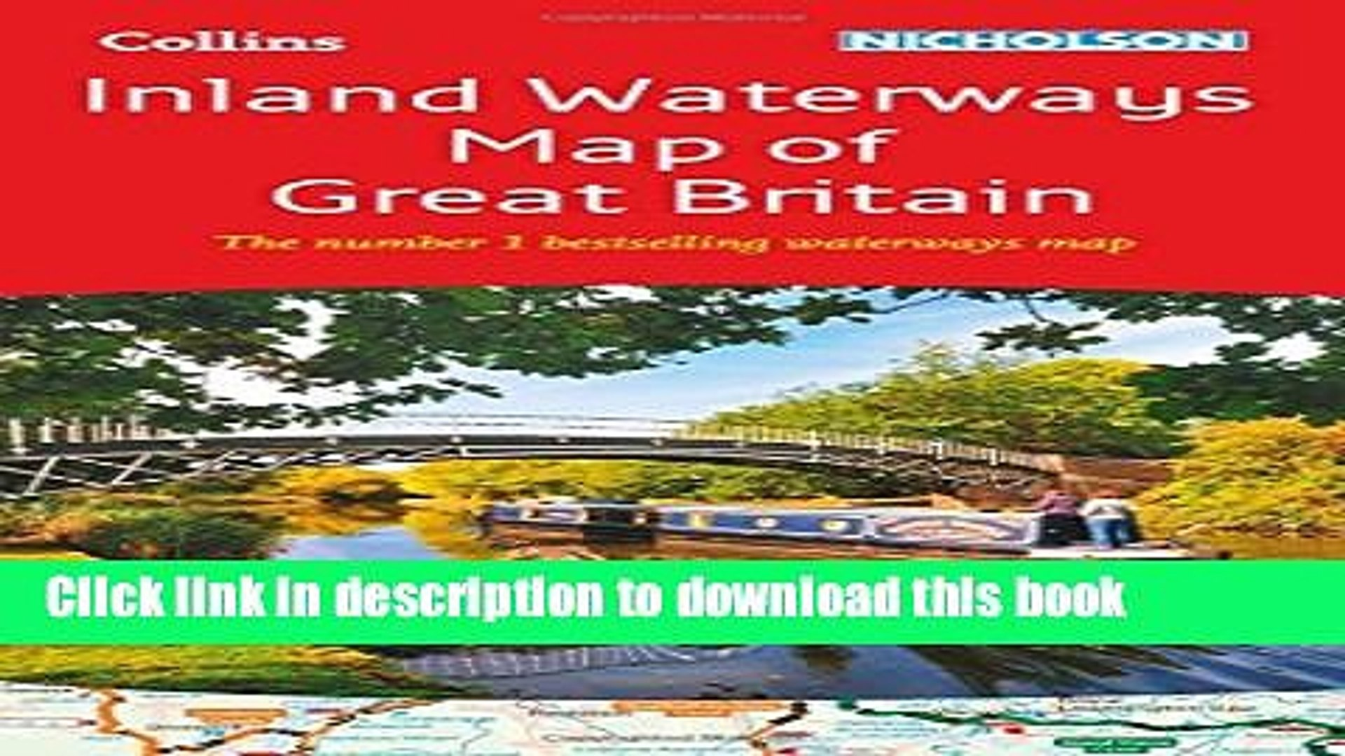 [Download] Collins Nicholson Inland Waterways Map of Great Britain  Paperback Collection