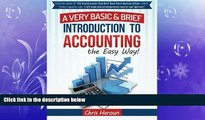 READ book  Learn Accounting the Easy Way!: A Basic   Brief Introduction to Accounting from an