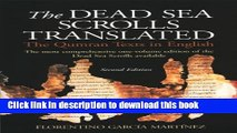 [Download] The Dead Sea Scrolls Translated: The Qumran Texts in English Kindle Online