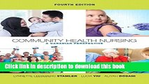 [Download] Community Health Nursing: A Canadian Perspective (4th Edition) Hardcover Online