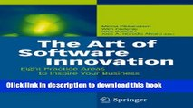 [Read PDF] The Art of Software Innovation: Eight Practice Areas to Inspire your Business Ebook Free