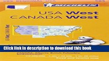 [Popular] Michelin USA: West, Canada: West / Etats-Unis: Ouest, Canada: Ouest Map 585 Hardcover Free