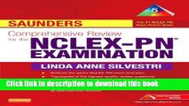 [Download] Saunders Comprehensive Review for the NCLEX-PN(tm) Examination Paperback Online