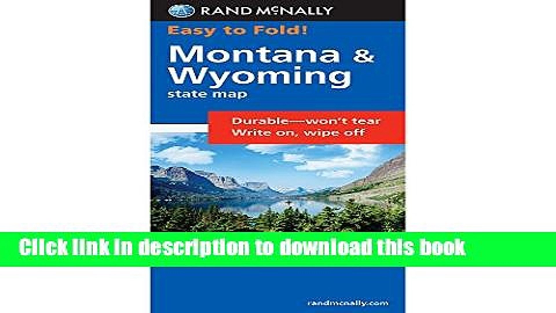 [Popular] Easy Finder Map Montana/Wyoming Paperback OnlineCollection