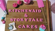 How to make Buttercream icing Recipe! | Kitchenaid & Storytale Cakes