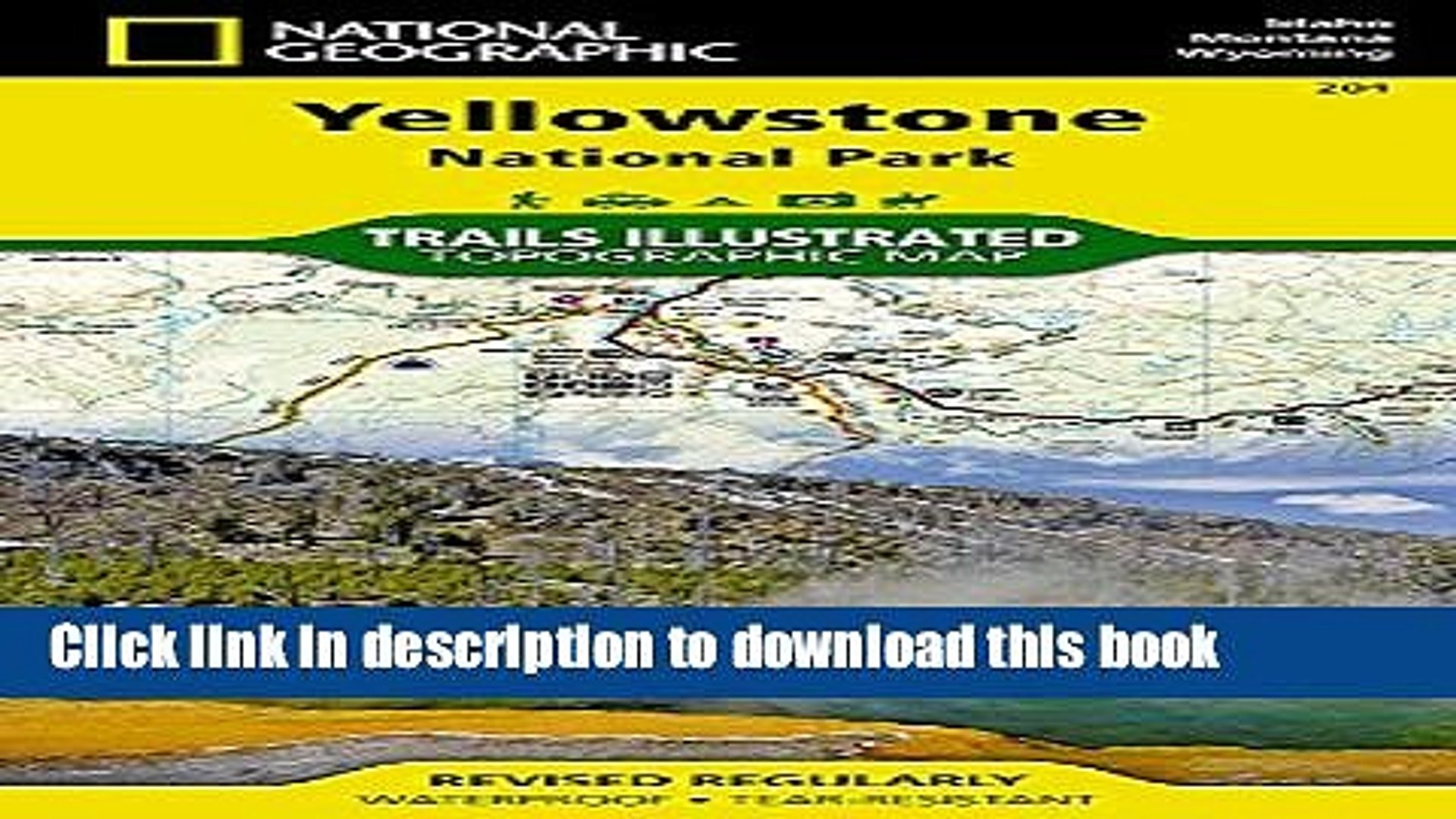 [Popular] Yellowstone National Park 201 GPS Wyoming-Montana-Idaho: Ng.NP.201 Hardcover Free