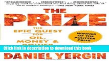 [Popular] The Prize: The Epic Quest for Oil, Money   Power Paperback OnlineCollection