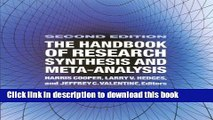 [Download] The Handbook of Research Synthesis and Meta-Analysis Paperback Collection