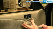 DH49 98 02 Toyota Corolla GEO Prizm Outside Door Handle Set 4 98 99 00 01 0