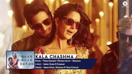 Kala Chashma -Full Song - Baar Baar Dekho