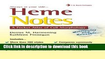 [Download] Heme Notes: A Pocket Atlas of Cell Morphology Hardcover Collection