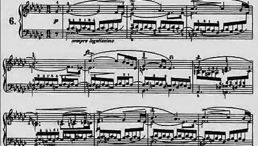 Chopin Etude Op  10 No  6 Audio + Sheet Music - video